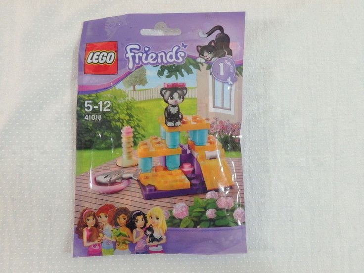 LEGO 41018 Friends Kitten Cat's playground set polybag Series 1 #LEGO