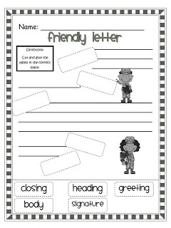 friendly letter format for 2nd grade friendly letter template writing letter 16826