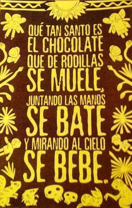 lapinchecanela:  El Chocolate…