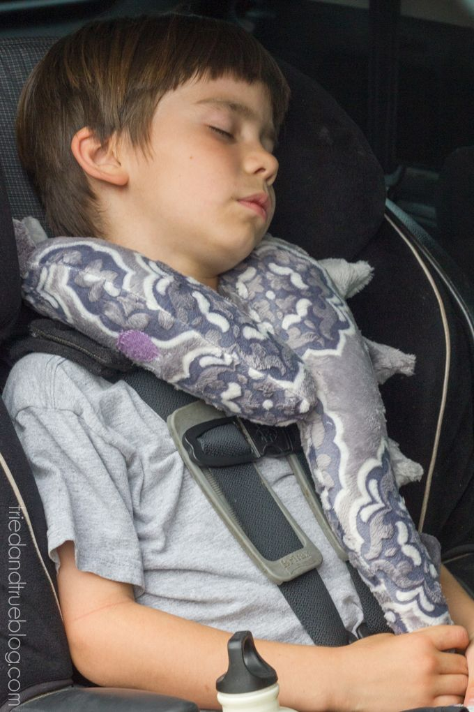 monster tail kids travel pillow