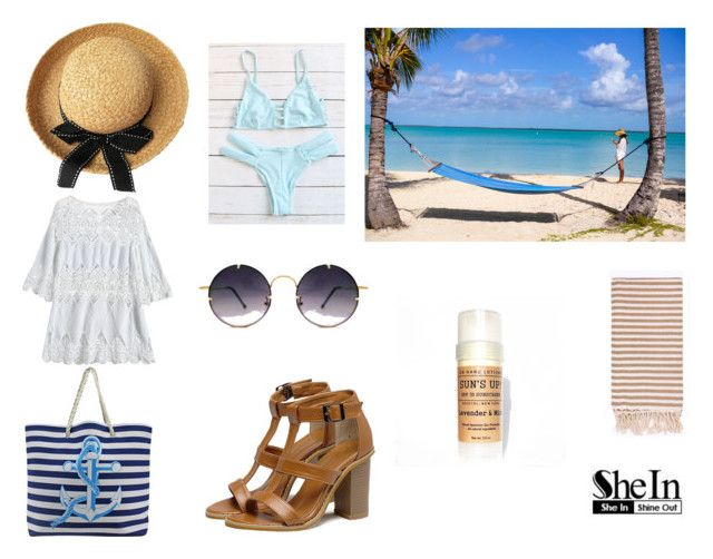 """""""Blue Bikini"""" by gothicvamperstein on Polyvore featuring Turkish-T and Spitfire"""