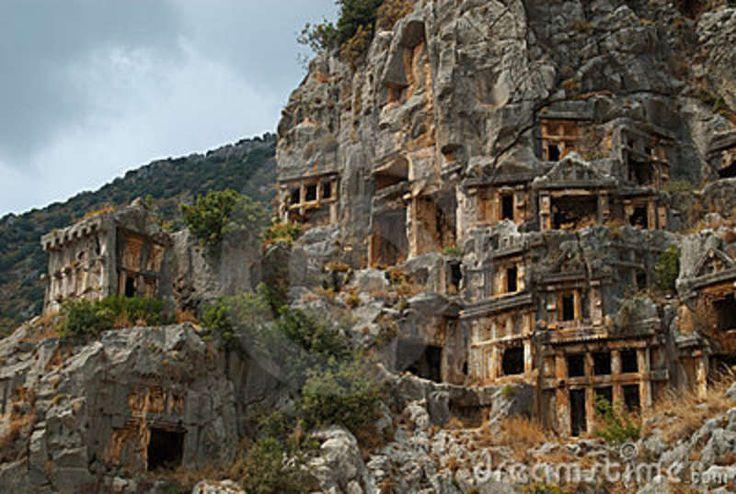 Tombe Della Roccia, Myra