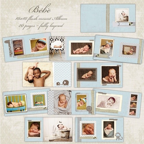 cd baby templates