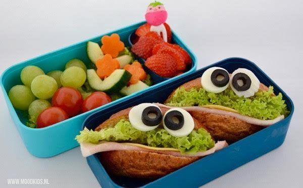 Gezond en eetbaar monster #DutchBento - Moodkids | Moodkids