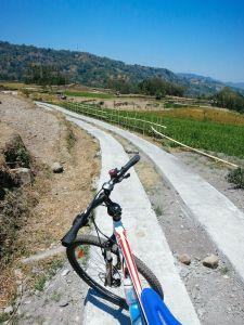 Biking Through The Hills In Malino