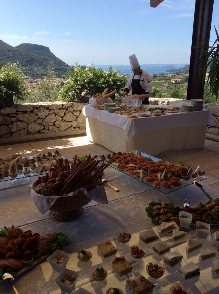 Lake View appetizers buffet