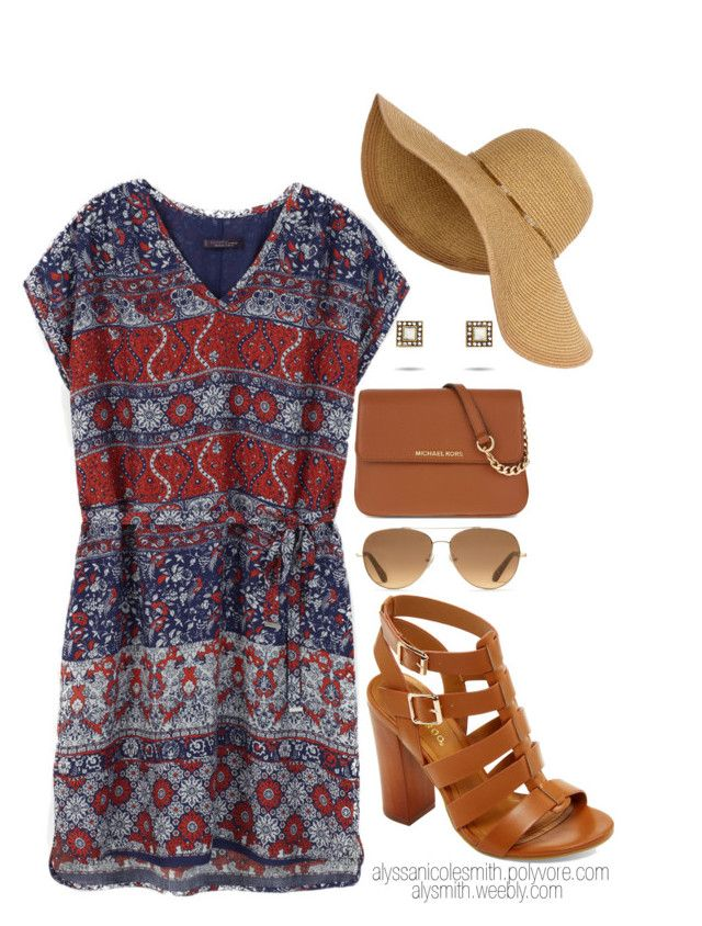 Summer Cookout Outfit by alyssanicolesmith