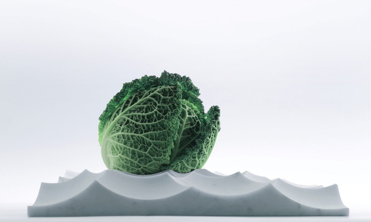 Mare Tranqullitatis by Shiro Studio A sculpture you can put fruit and