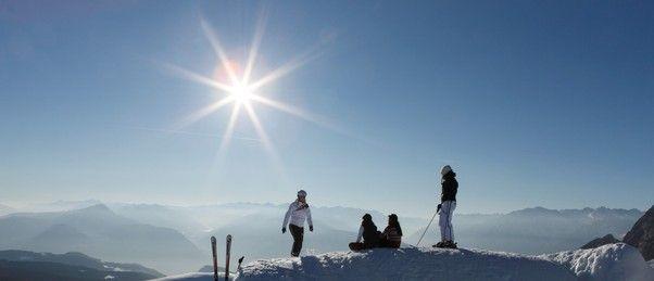 #sun #skiing #pleasure | © Frieder Blickle