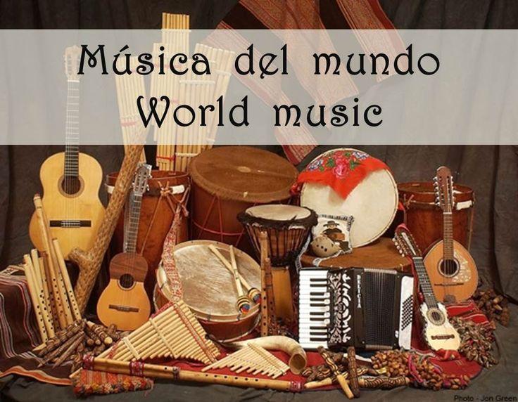 Una playlist de cada continente con una selección de música tradicional