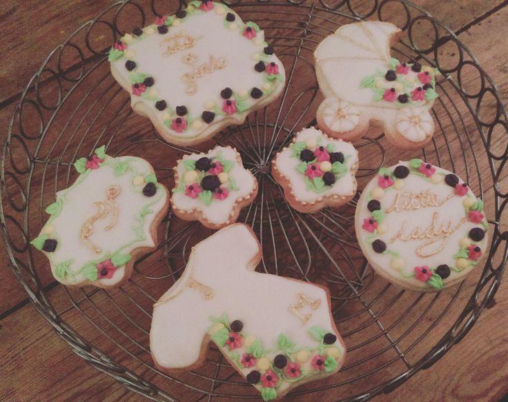 Baby Girl Cookies @thelittlebakingco
