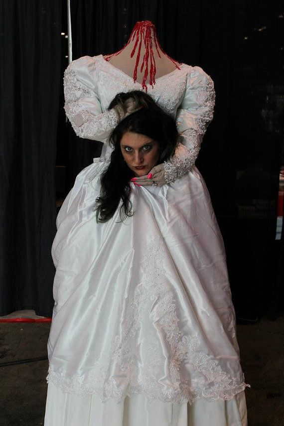 Headless Bride Costume  sc 1 st  Pinterest & The 17 best Headless Costume images on Pinterest | Halloween labels ...