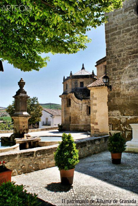 El patrimonio de Alhama de Granada. http://arteole.com/blog/el-patrimonio-de-alhama-de-granada/