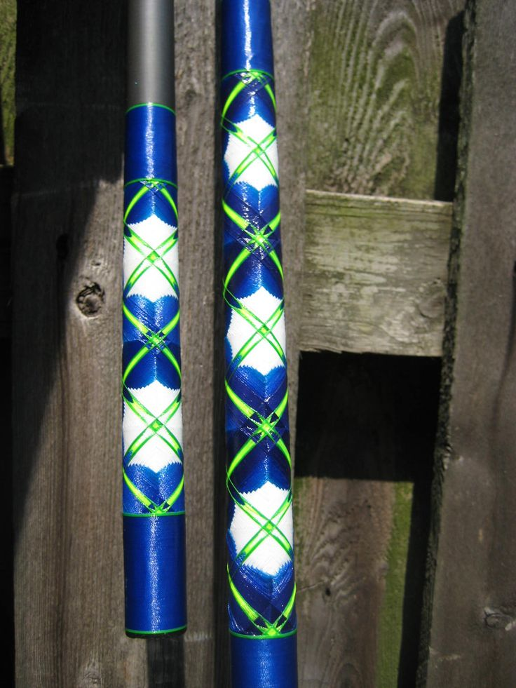 Decorative wrap on my 12 39 surf rod my fishing rods for Wrap fishing system