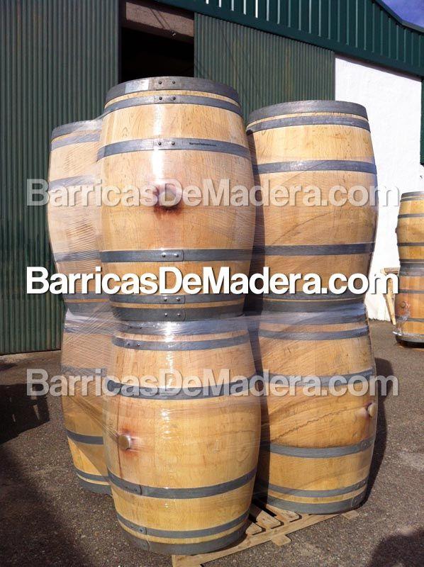 Envíos de #barricas de madera usadas para #decoración de bar
