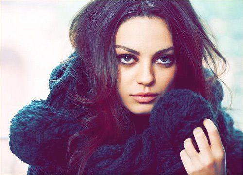 mila kunis she is beautiful but this is also a great pose
