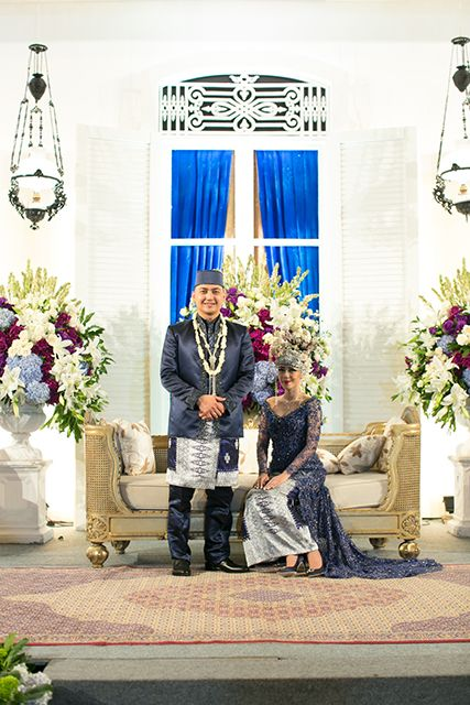 Pernikahan Adat Betawi ala Luciana dan Tyo