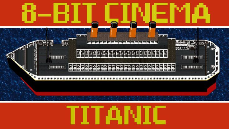 The Epic Disaster Film 'Titanic' Retold as an 8-Bit Animated Video Game