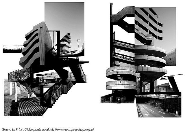 Miles Donovan (consider merging images of fragmented buildings and then illustrating over the top).