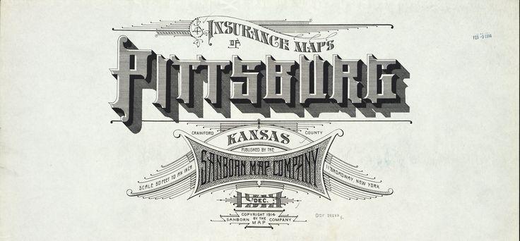 Sanborn insurance map kansas pittsburg 1913 detail