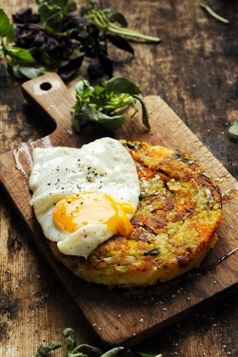 Mais pourquoi est-ce que je vous raconte ça... Dorian cuisine.com: Bubble and squeak à la provençale pour fêter un mois très Irrésistablement British Food !