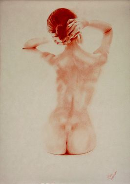 "Saatchi Art Artist Franco Fusari; Drawing, ""light & shadow #A003"" #art"