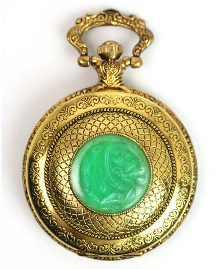 chinese jade pocket watch