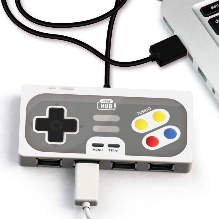 Gamepad USB HUB 4 porty