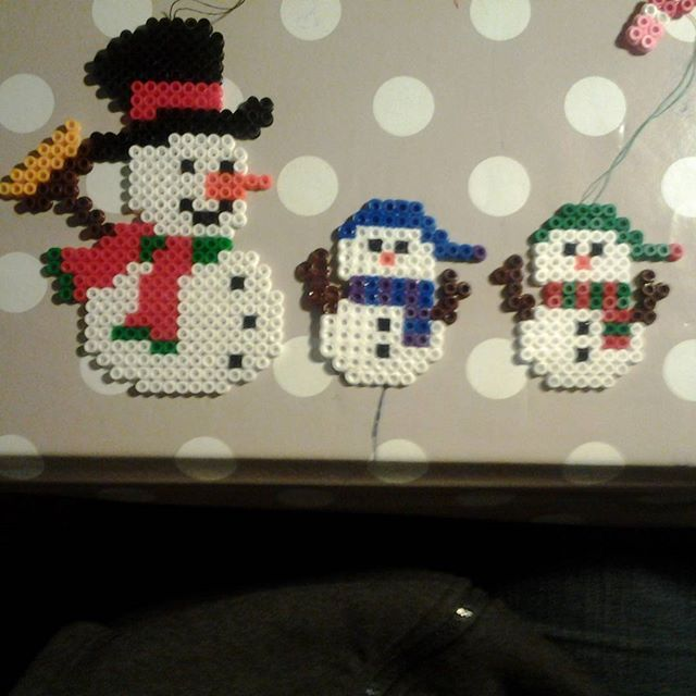 Christmas decorations hama beads by cosyma