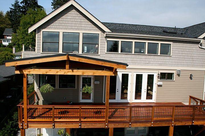 11 best 2 level deck images on pinterest deck for 3 story deck