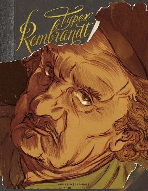 Only 8 more nights until the unique graphic novel 'Rembrandt' by cartoonist Typex can be bought in our museum shop.