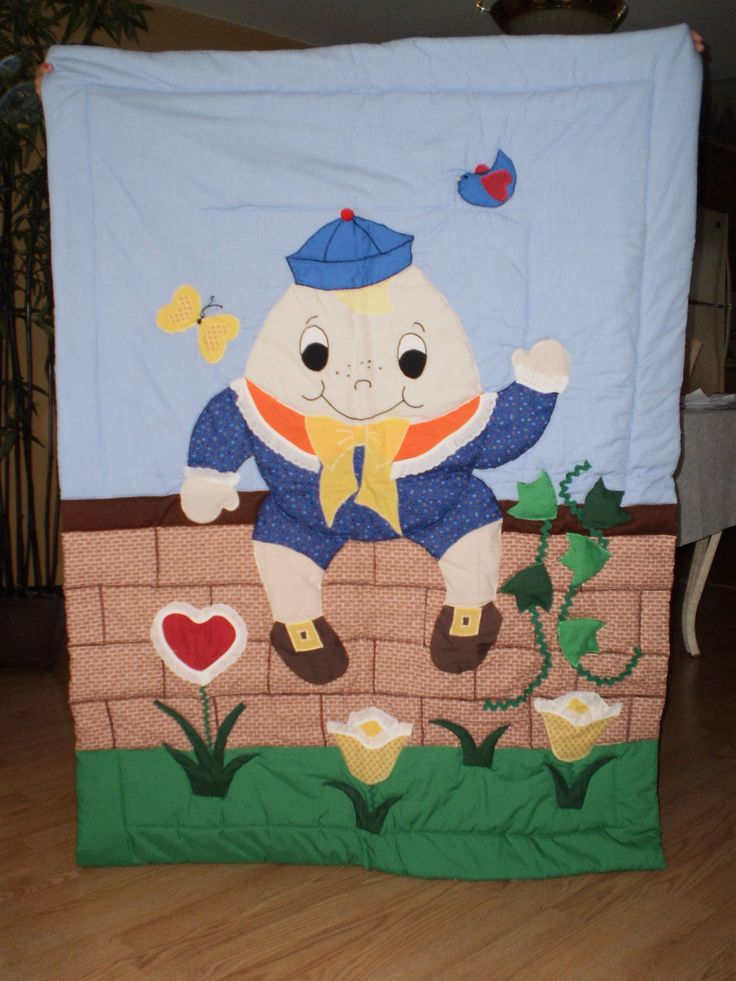 Humpty Dumpty Quilt by ItzSewTime on Etsy