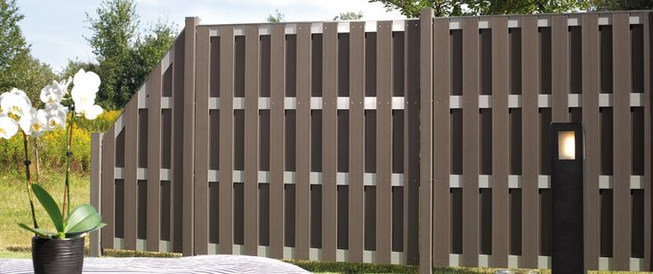 #wpc #fence #beautiful synthetic wood fence panels for sale  ,backyard compostie wood  fence wholesaler