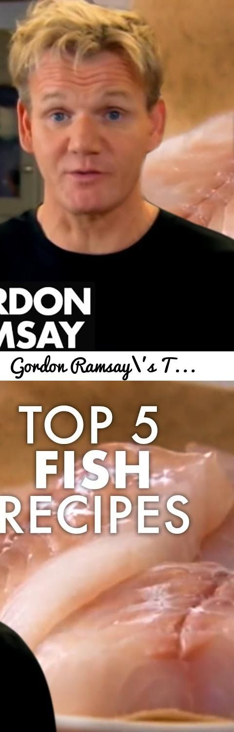 Gordon Ramsay's Top 5 Fish Recipes... Tags: Gordon, Gordon Ramsay, Ramsay, Ramsey, Chef Ramsay, Recipe, Recipes, Food, Cooking, Cookery, Gordon Ramsay's Top 5 Fish Recipes, Gordon Ramsay's Top 5, Fish Recipes, gordon ramsay fish, fish, fish fingers, home made fish fingers, chip butty, red mullet, ginger beer battered fish, battered fish, ginger beer, mushy pees, lemon sole, lemon sole en papillote, lemon sole en papillote gordon ramsay, sea crust, sea crusted sea bream, sea bream, sea bream