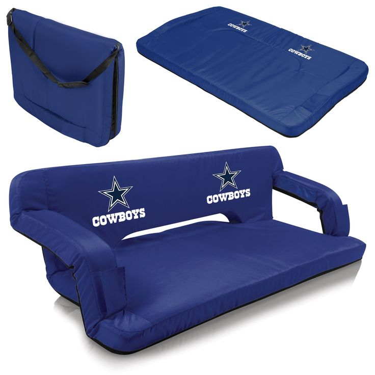 Dallas Cowboys Tailgating Couch - Reflex by Picnic Time