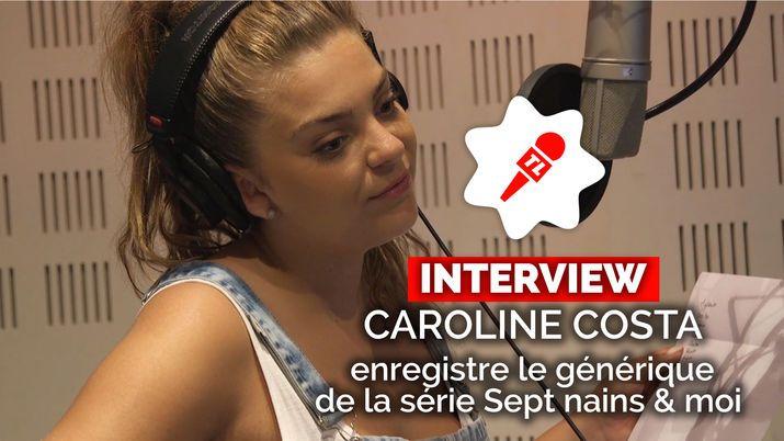 Sept nains et moi (France 3) : découvrez l'enregistrement du générique par Caroline Costa (VIDEO)
