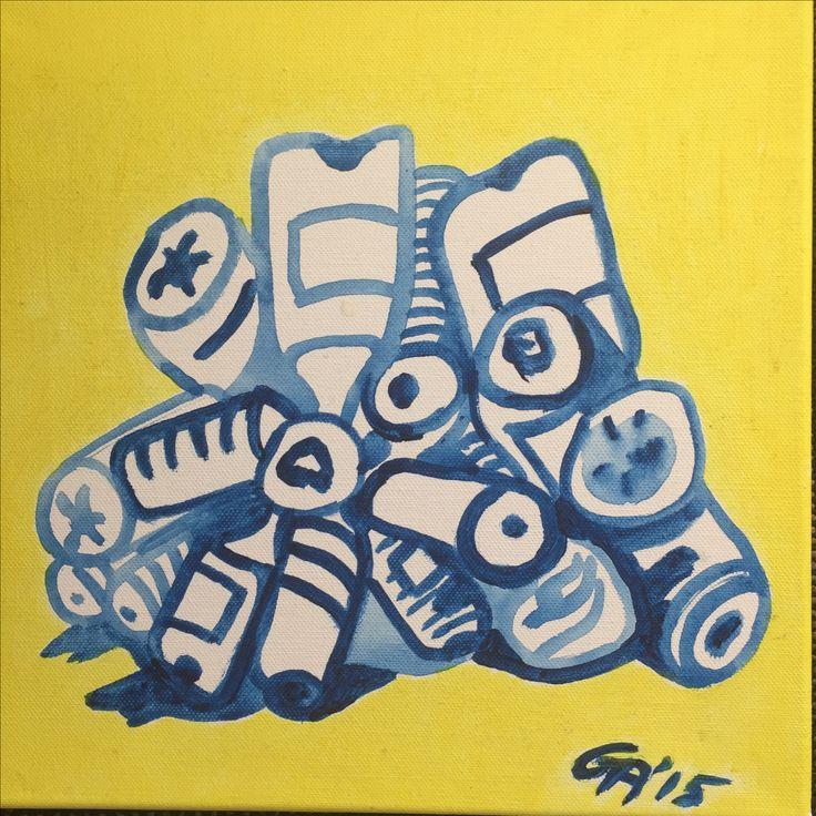 'Plastic Pile' by Gabriela Aguiard