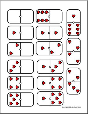 V Day Dominoes