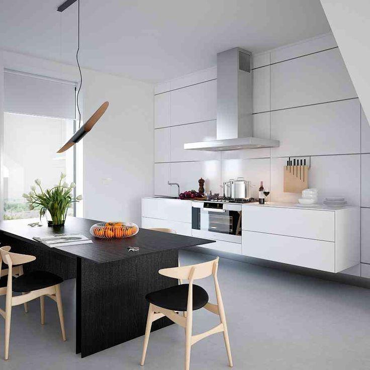 modern interior design inspiration with large floor space modern kitchen design darkwood kitchen table awesome triple d designs