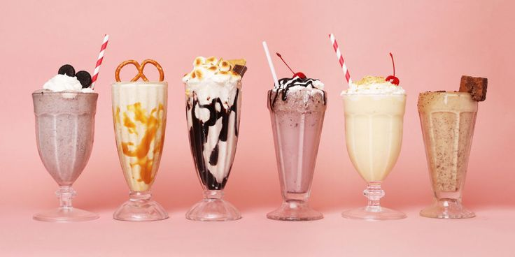 These easy milkshake recipes include recreations of our favorite desserts and heavenly ingredient combos like peanut butter and brownie. Enjoy!