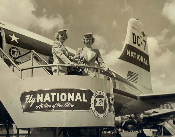 National Airlines DC-7