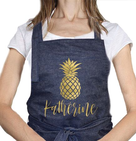 Personalised Aprons - personalise them online at www.macaroon.co.za