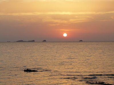 sunset cala d'hort