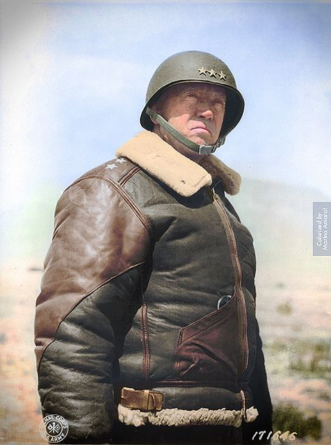 General George S. Patton | George Smith Patton, one of the great American generals of World War II, is born in San Gabriel, California.