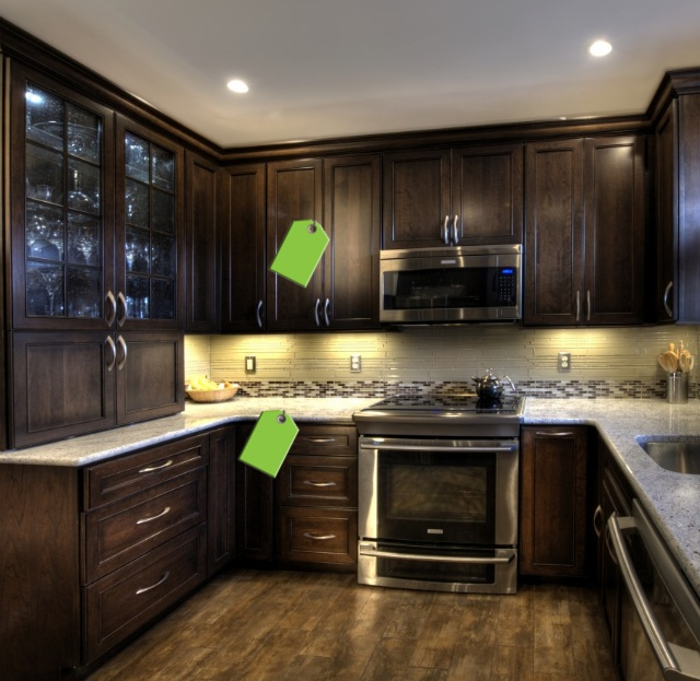Backsplash For Black Cabinets: