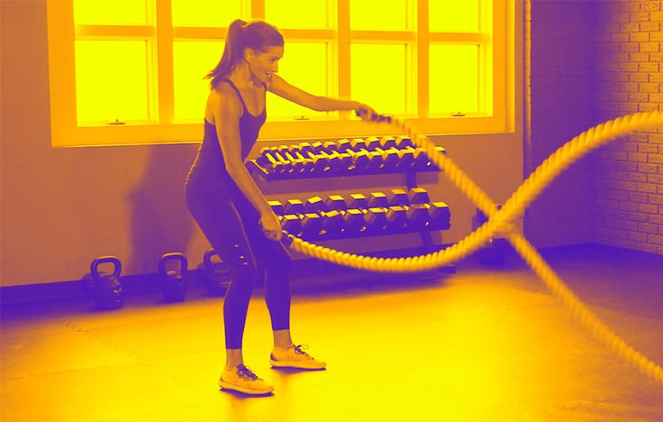 Want to Torch Crazy Cals? Try This 12-Minute Battle Ropes Circuit