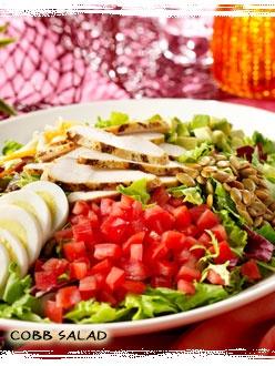 Bahama Breeze recipe for Cobb Salad and Citrus Vinagrette