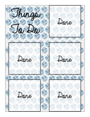Free Printable Sticky Note To-Do List   Crafts and Chaos