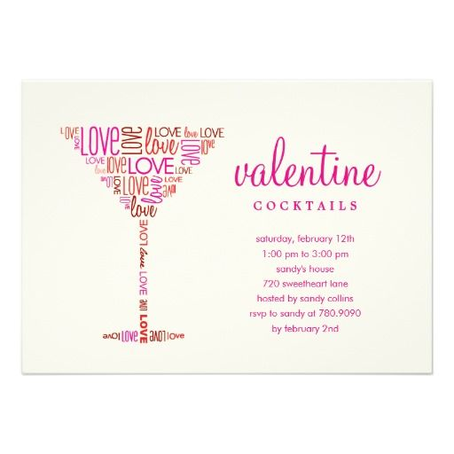 24 best Invitations  Valentine Party images on Pinterest