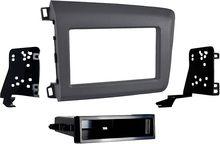Metra - Dash Kit for Select 2012-2012 Honda Civic - Gray